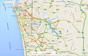 Map Of Washington Coast by Google Traffic Launches In Sri Lanka Yamu