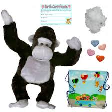 build your own teddy gorilla 16 40cm build your own teddy kit no sew add a t