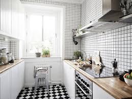carrelage cuisine damier noir et blanc cuisine carrelage noir et blanc cuisine meilleures idées de