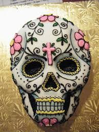 dia de los muertos sugar skulls day of the dead dia de los muertos sugar skull cake cakecentral