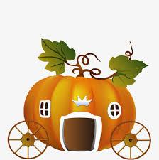 Pumpkin Carriage Cartoon Pumpkin Carriage The Pumpkin Carriage Cinderella