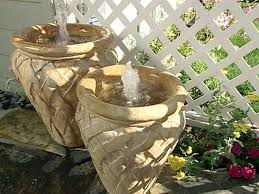 soothing japanese garden style with diy water fountain also bamboo
