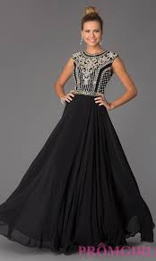 jcpenney prom dresses black and white dresses