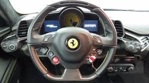 458 italia steering wheel 2014 used 458 italia 2dr convertible at tempe honda