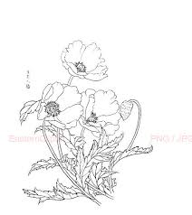 chinese drawing 24 png digital download easternclipart