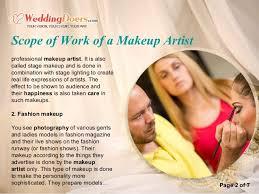 Professional Makeup Artist Lighting Scope Of Work Of A Makeup Artist