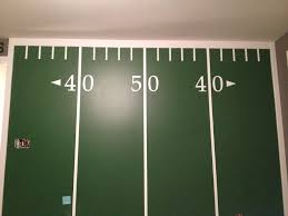 Football Wall Murals by Football Field Wall Rooms Pinterest Football Field Walls