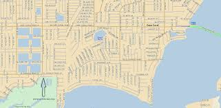 Cape Coral Florida Map Directions To Cape Coral Rotary Park Caloosa Bird Club