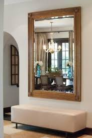 hallway bench with mirror foter