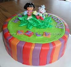 coolest dora birthday cake photos and how to tips