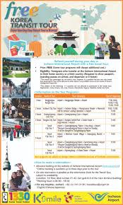 free korea transit tour official korea tourism organization