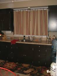 modern kitchen curtain ideas within black stained wooden between frosted glass windows of marvelous f