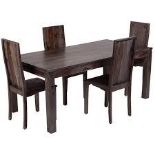 Big Wood Dining Table Wanderloot Big Sur Grey Wash Solid Sheesham Dining Table India