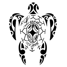 tribal sea turtle tattoo clipart library free clipart images