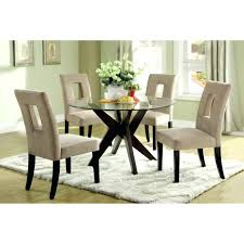 Dining Room Table Glass Top Glass Top Dining Set Juniorderby Me