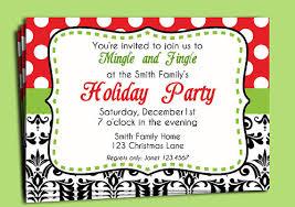 Free Christmas Party Invitation Wording - modern christmas invitation template free yaseen for