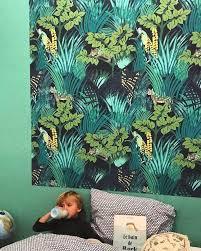 decoration chambre jungle interiordecor chambre d enfant jungle papier peint