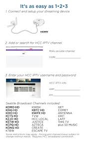 tv guide for antenna users iptv hood canal communications