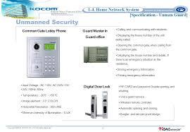 Design Home Network System Kocom Home Network System Proposal Ppt Video Online Download