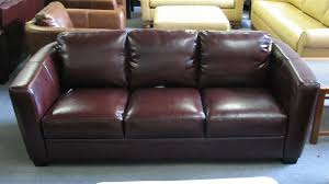 Decoro Leather Sofa by West Auctions Auction Bellach U0027s Leather For Living Santa Rosa
