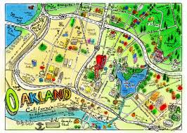 Map Of Oakland Our Oakland One Day In Oakland