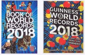 guinness book of world records v scholastic is the cover of a