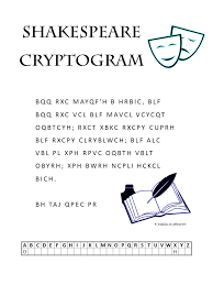 shakespeare cryptogram