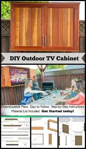 Build Outdoor Tv Cabinet As 25 Melhores Ideias De Outdoor Tv Mount No Pinterest Cabo