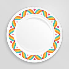 healthy plate coloring page plate vectors photos and psd files free download