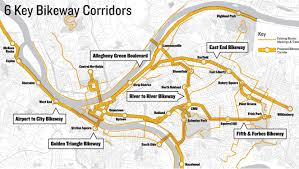 Cmu Map Bikepgh Hopes To Transform Pittsburgh With A New Concept The