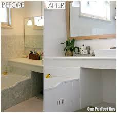 Easy Bathroom Makeover Budget Bathroom Makeover U2013 The Reveal