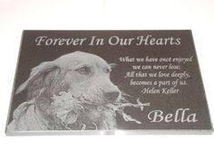 pet memorial stones 12x12 black granite pet memorial plaque by bentedesigns