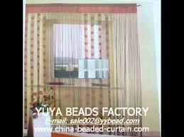 Beaded Fringe For Curtains String Fringe Curtain Panel For Doorway U0026 Windows Youtube