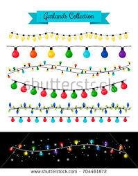 christmas lights background stock vector 232800097 shutterstock