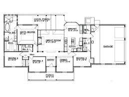 split ranch floor plans what does split bedroom ranch house plan hill country split