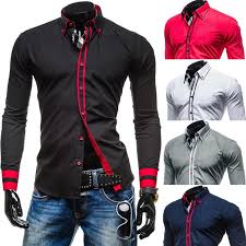 men u0027s slim fit business formal dress shirt new arrival long sleeve