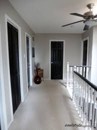 painting door frames black interior doors pewter walls white door frames wonder how