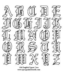 letter tattoos letters font