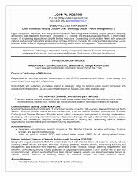 Resume Template Unique Technical Officer Sample Resume Unique Cio Resume Template