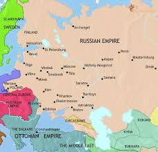 russia map map of russia at 1871ad timemaps