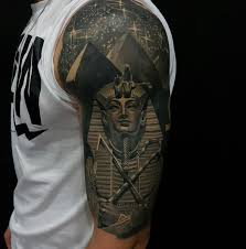 tutankhamun pyramids half sleeve best design ideas