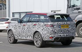 range rover sport interior 2017 spied 2017 range rover sport svr facelift to get a power boost