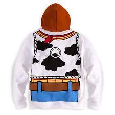 wdw store disney hoodie toy story woody costume