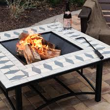 rumblestone fire pit insert furniture u0026 accessories analyzing the square models of fire pit