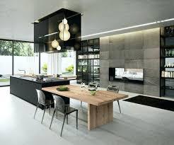 ilot cuisine cuisine design italienne avec ilot cuisine central cuisine types