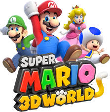 super mario 3d wii artwork including characters enemies