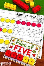 diy indoor games fall fun for kindergarten center ideas kindergarten and math