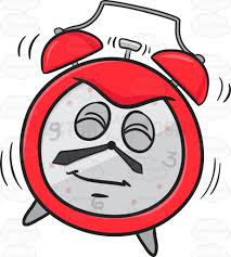 gardening emoji startled alarm clock going off emoji cartoon clipart vector toons