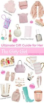 the ultimate gift guide for the girly girly girly