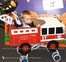 coolest homemade firefighter costume ideas for children